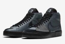 Nike SB Blazer Mid Edge Black Grey DA2189-001 Release Date Info