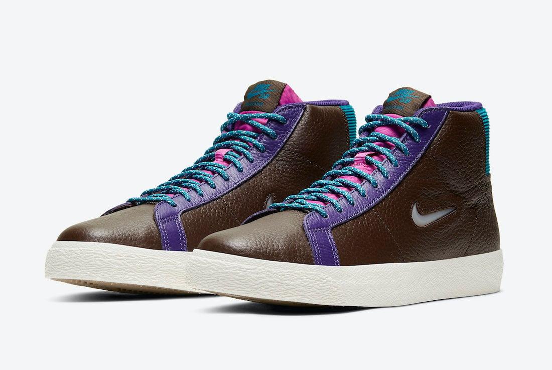 Nike SB Blazer Mid Premium Pacific Northwest CU5283-201 Release Date Info
