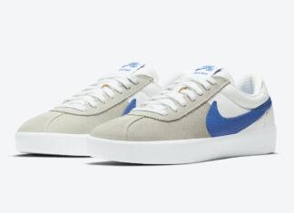 Nike SB Bruin React Grey Blue White CJ1661-100 Release Date Info
