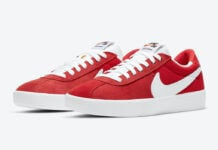 Nike SB Bruin React Red White CJ1661-600 Release Date Info