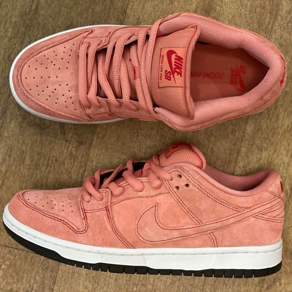 Nike SB Dunk Low Pink Pig CV1655-600 Release Date Info