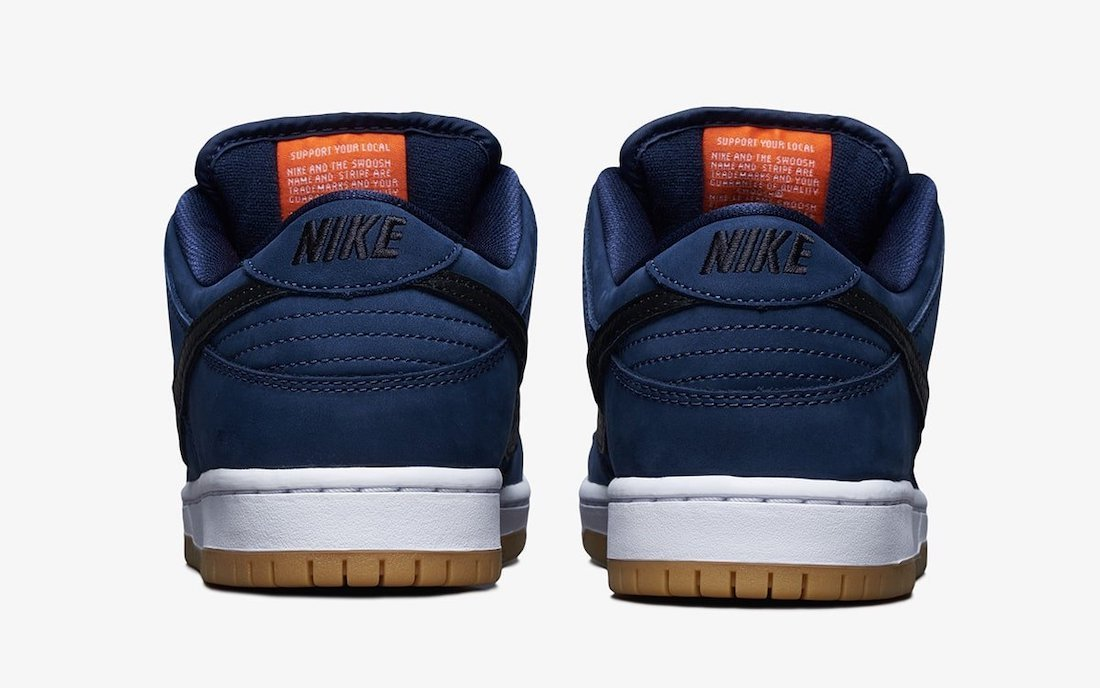 Nike SB Dunk Low Pro ISO Navy Gum CW7463-401 Release Date Info