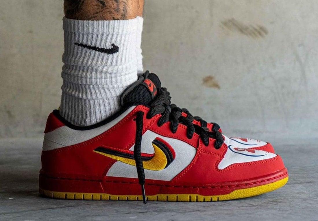 Nike SB Dunk Low Vietnam 309242-307 On-Feet