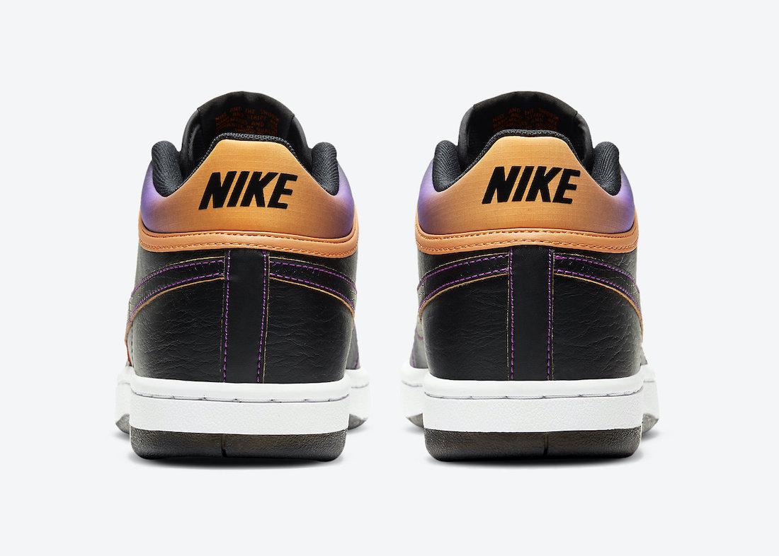 Nike Sky Force 3/4 Black Purple Orange CZ7872-001 Release Date Info