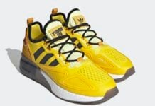 Ninja adidas ZX 2K Boost Yellow Legacy Gold FZ1882 Release Date Info