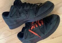 Off-White Nike Dunk Low Black 2021