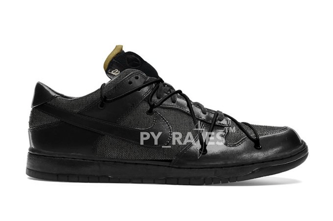 Off-White Nike Dunk Low Black Release Date Info