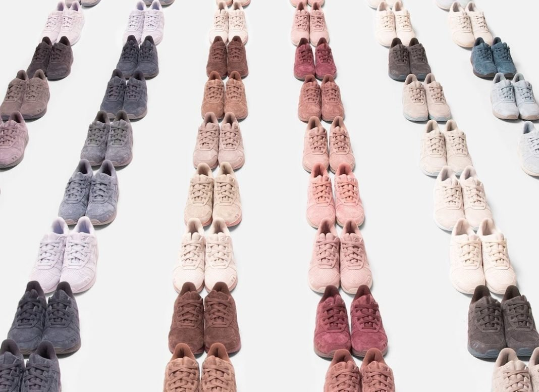 Ronnie Fieg Kith Asics Gel Lyte III The Palette Release Date Price