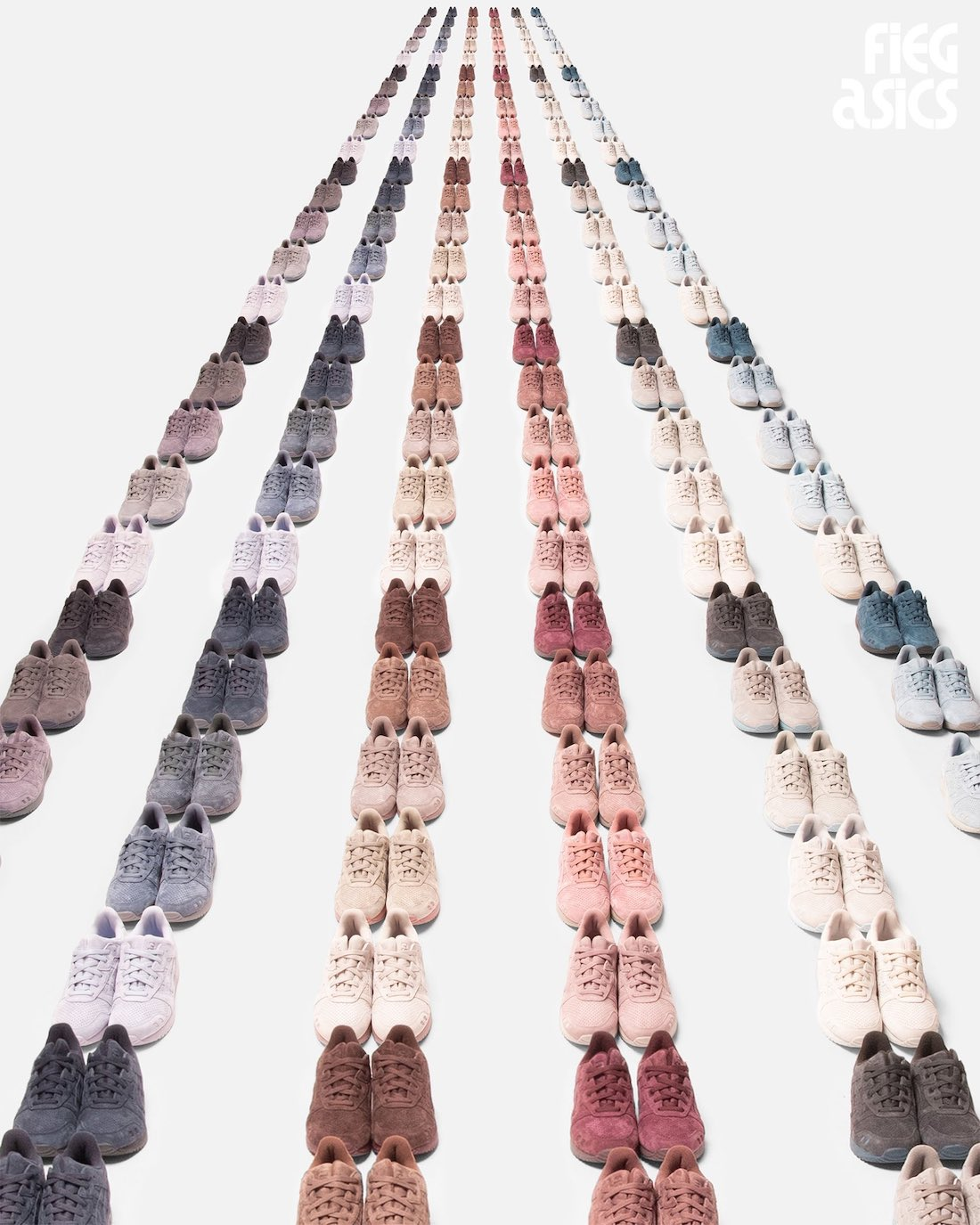 Ronnie Fieg Kith Asics Gel Lyte III The Palette Release Date