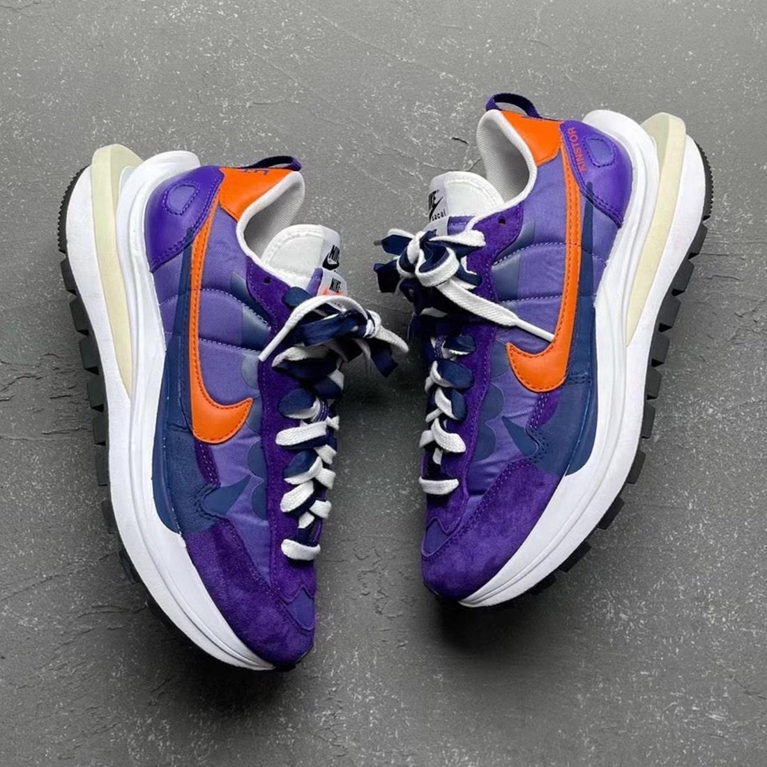 Sacai Nike VaporWaffle Dark Iris Release Date