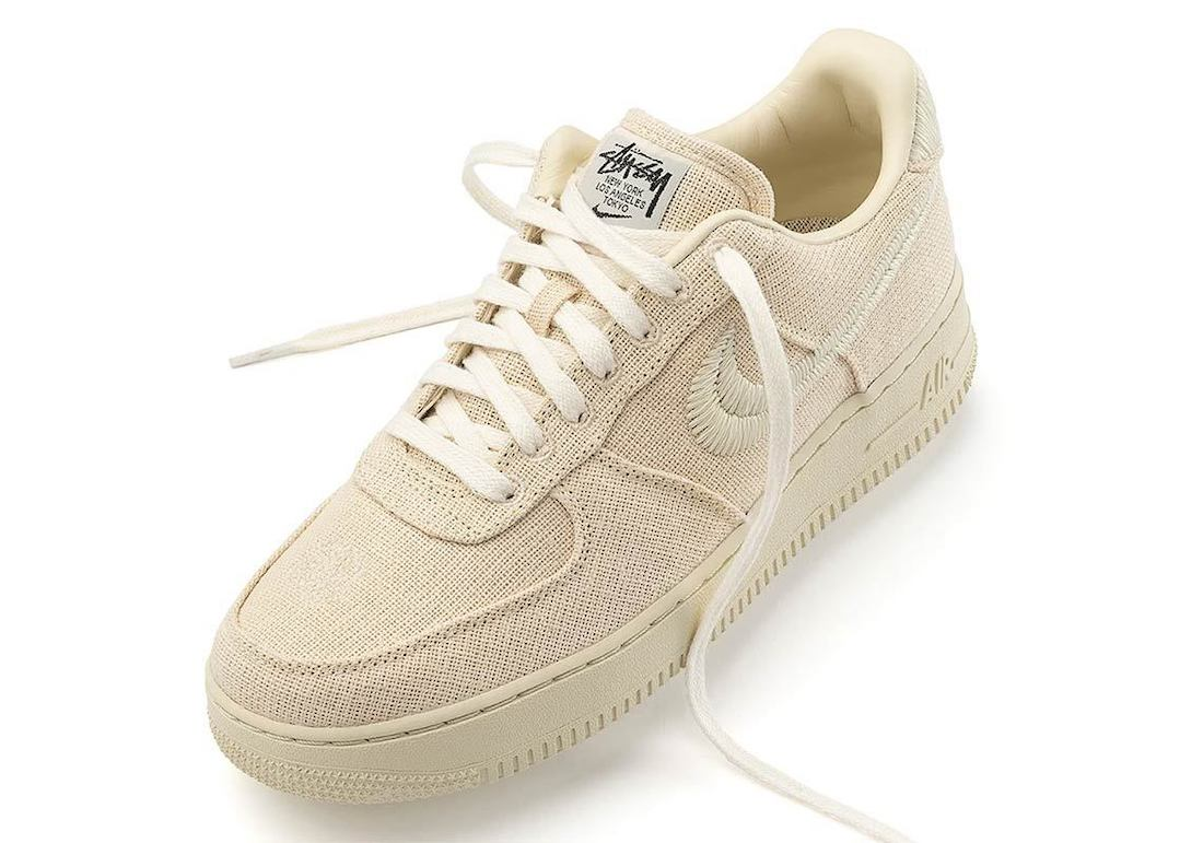 Stussy Nike Air Force 1 Low Fossil Release Date