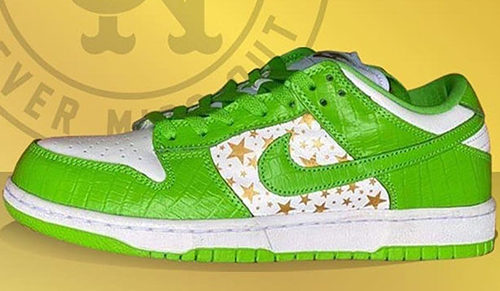 Supreme Nike SB Dunk Low Mean Green Release Date
