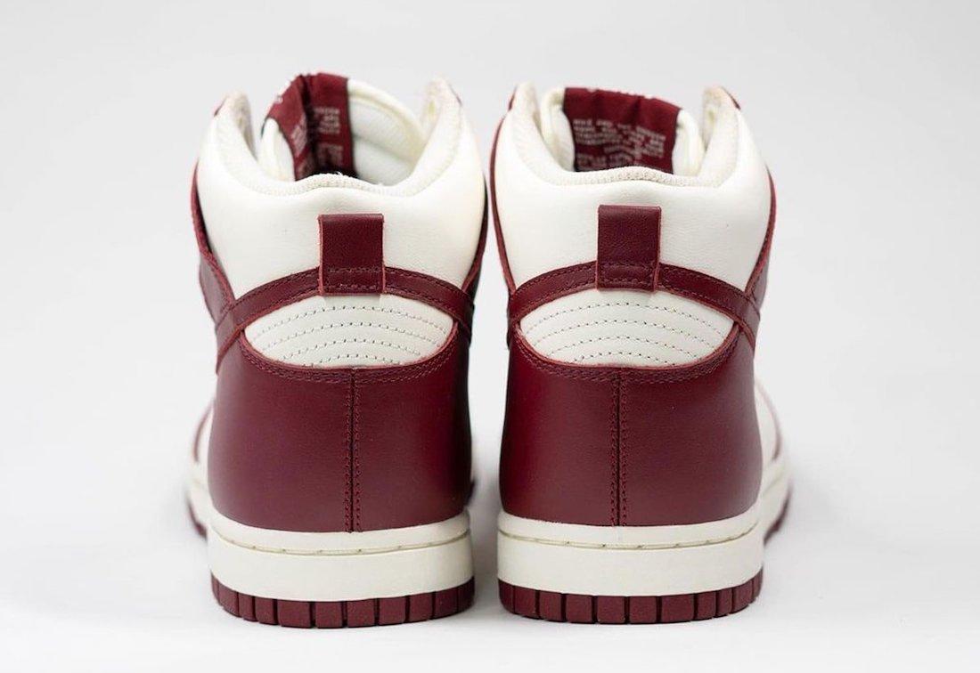Team Red Nike Dunk High DD1869-101 Release Date