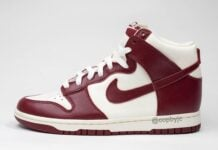 Team Red Nike Dunk High DD1869-101 Release Date