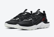 3M Nike React Vision Black University Red CT3343-002 Release Date Info
