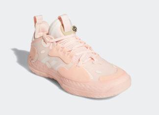 adidas Harden Vol 5 Futurenatural Icy Pink FZ0834 Release Date Info