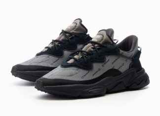 adidas Ozweego Grey Black Green Tint FV1807 Release Date Info