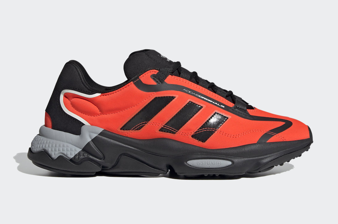 adidas Ozweego Pure Black Solar Red G55505 Release Date Info