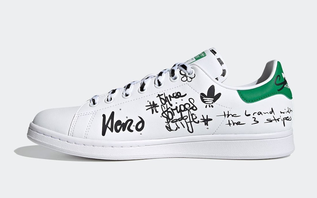 adidas Stan Smith Sharpie Pack GV9800 Release Date Info