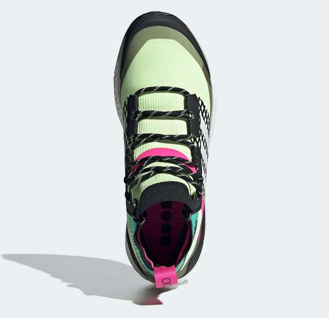 adidas Terrex Free Hiker Hi-Res Yellow FY7334 Release Date Info