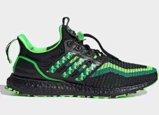 adidas Ultra Boost DNA Lion Dance Black Green GV9806 Release Date Info