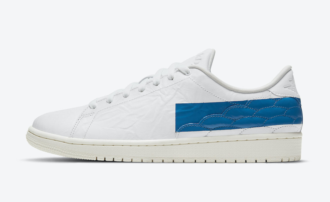 Air Jordan 1 Centre Court White Military Blue Sail DJ2756-103 Release Date Info