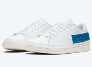 Air Jordan 1 Centre Court White Military Blue Sail DJ2756-103 Release Date Info