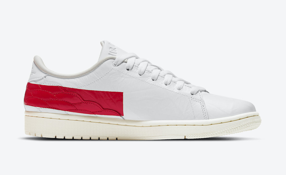 Air Jordan 1 Centre Court White University Red Sail DJ2756-101 Release Date Info
