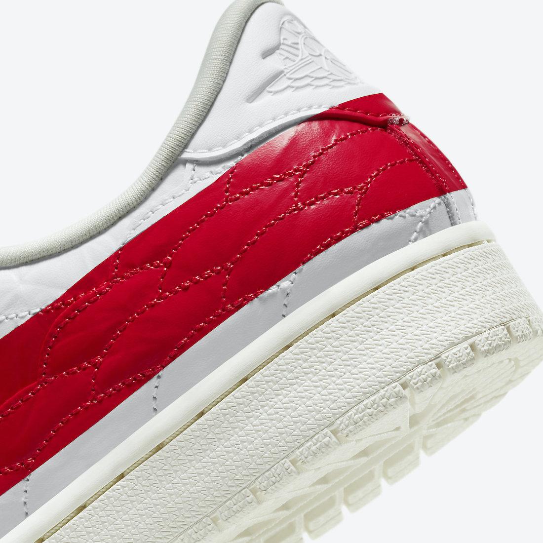 Air Jordan 1 Centre Court White University Red Sail DJ2756-101 Release Date Info