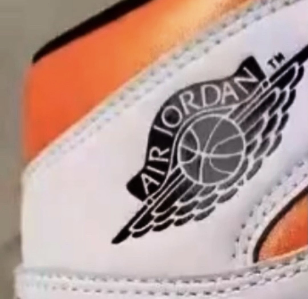 Air Jordan 1 Electro Orange 555088-180 Release Date Info Wings
