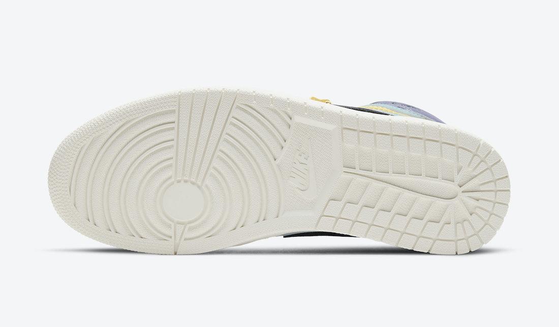 Air Jordan 1 High Switch Purple Pulse CW6576-500 Release Info Price