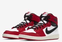 Air Jordan 1 KO Chicago 2021 DA9089-100 Release Price