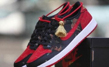 Air Jordan 1 Low OG CNY Chinese New Year DD2233-001 Release Date