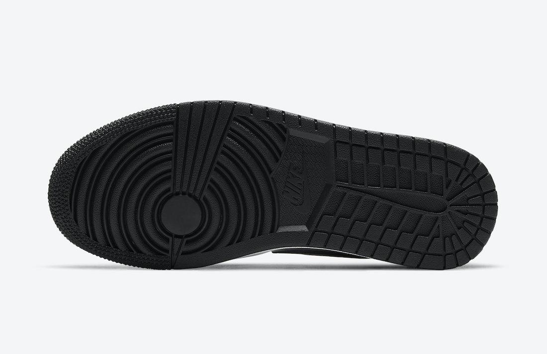 Air Jordan 1 Low Silver Toe DA5551-001 Release Date Info