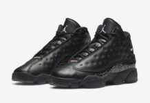 Air Jordan 13 GS Black Gold Glitter DC9443-007 Release Price