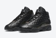 Air Jordan 13 GS Black Gold Glitter DC9443-007 Release Price