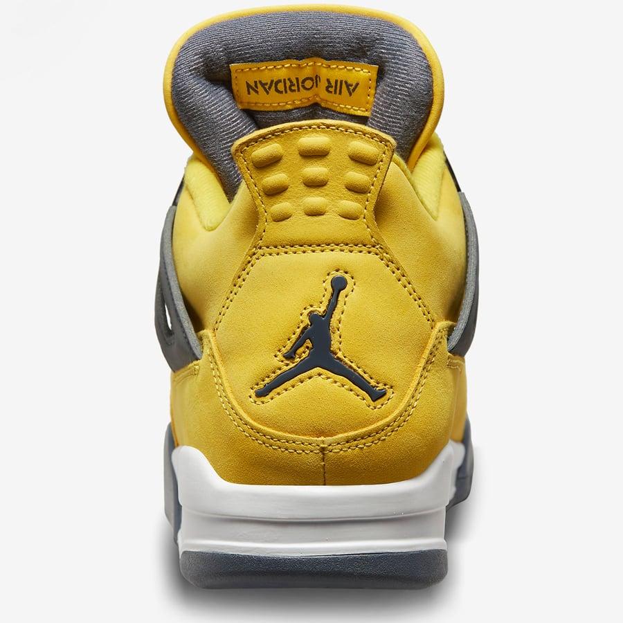 Air Jordan 4 Lightning 2021 CT8527-700 Release Date