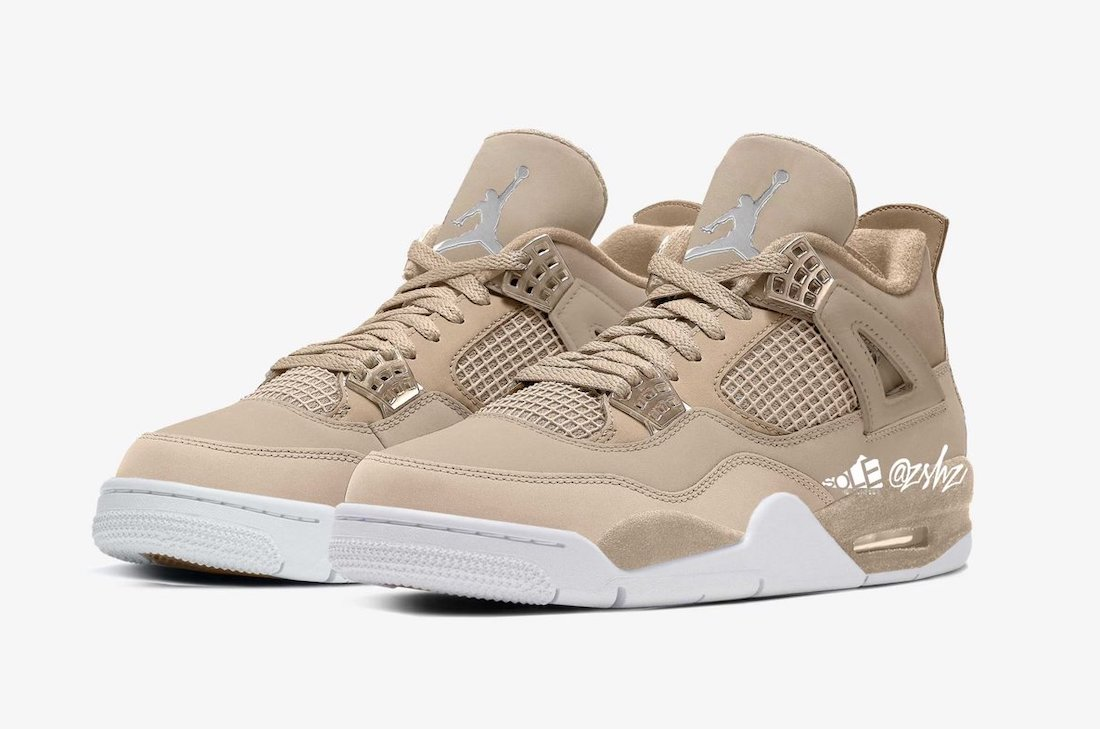 Air Jordan 4 WMNS Shimmer Bronze Eclipse Orange Quartz Metallic Silver DJ0675-200 Release Date Info