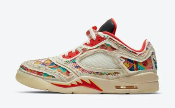 Air Jordan 5 Low CNY Chinese New Year DD2240-100 Release Price
