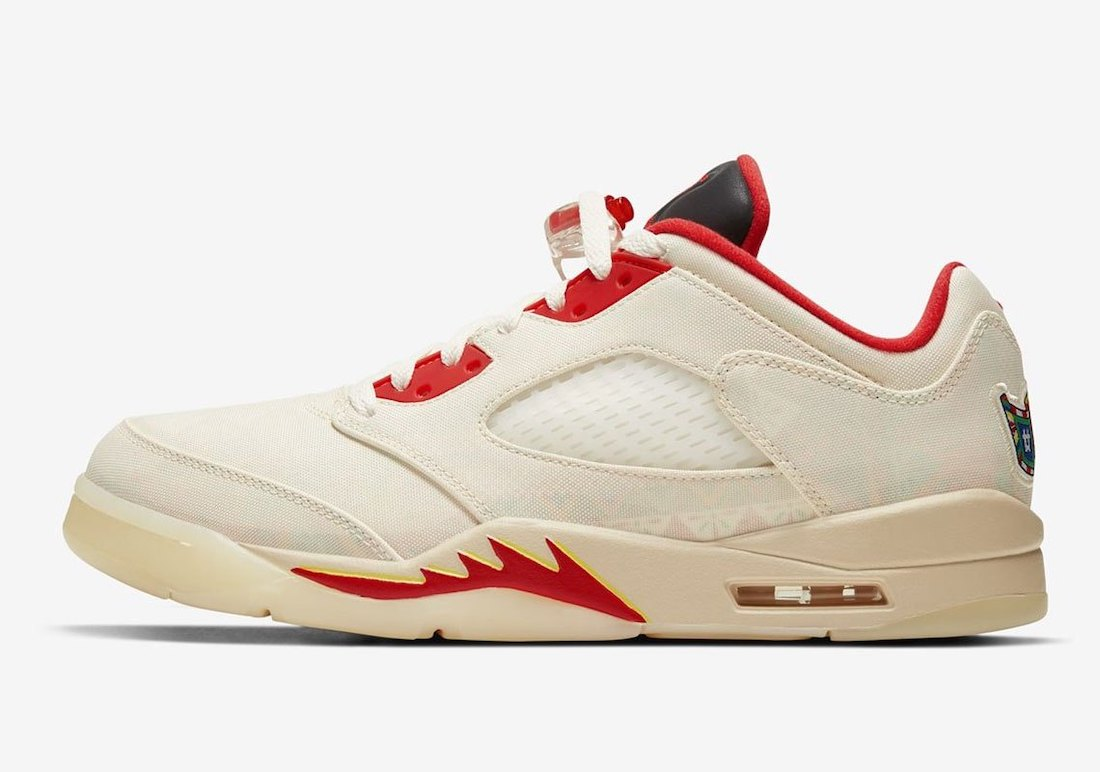 Air Jordan 5 Low CNY Chinese New Year DD2240-100 2021 Release Date Info