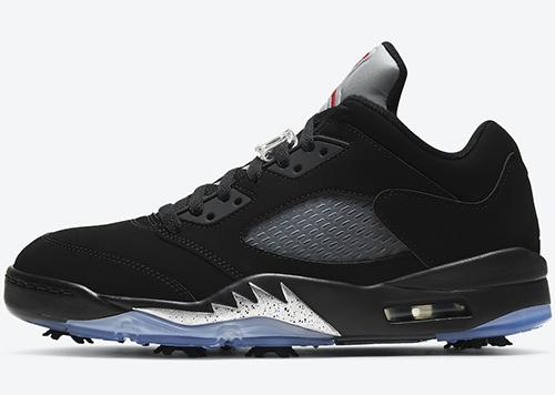 Air Jordan 5 Low Golf Black Metallic Release Date