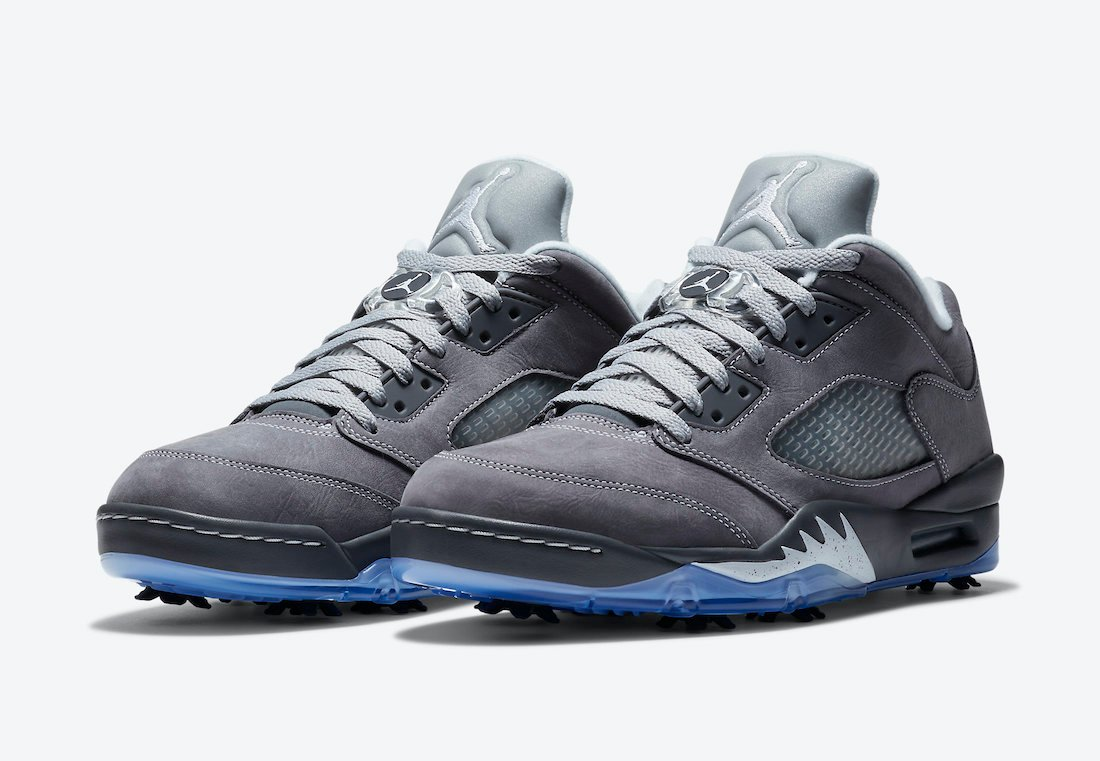 Air Jordan 5 Low Golf Wolf Grey CU4523-005 Release Date Info