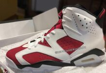 Air Jordan 6 Carmine 2021 Retro