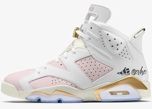 Air Jordan 6 WMNS Barely Rose Release Date