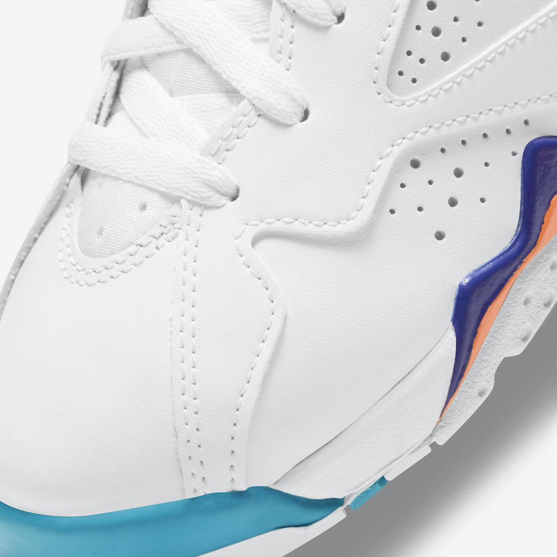 Air Jordan 7 GS White Chlorine Blue 442960-100 Release Date Info