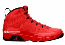 Air Jordan 9 Chile Red Black CT8019-600 Release Date