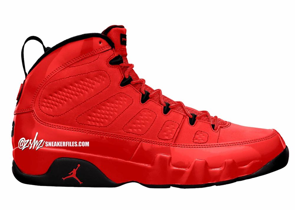 Air Jordan 9 Chile Red Black CT8019-600 Release Date
