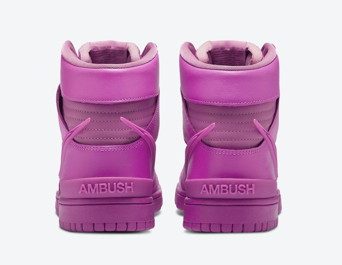 Ambush Nike Dunk High Cosmic Fuchsia CU7544-600 Release Date