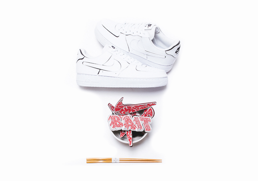 BAIT Nike Air Force 1 A5 Wagyu Release Date Info