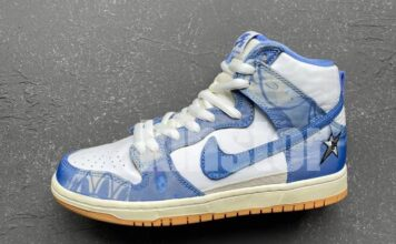 Carpet Company Nike SB Dunk High Release Info CV1677-100